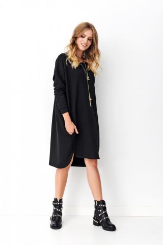 Numinou Womans Dress Nu_Nu270 dámské Black One size