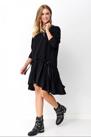 Numinou Womans Dress Nu_Nu275 dámské Black One size
