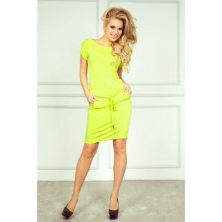 NUMOCO Womans Dress 56-3 Lime dámské XL