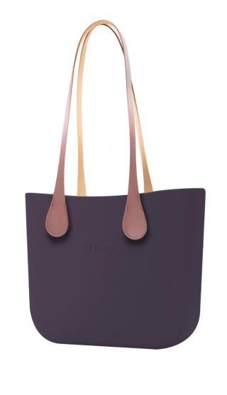 O bag kabelka Viola Scuro s dlhými koženkovými rúčkami Extra Slim Phard dámské