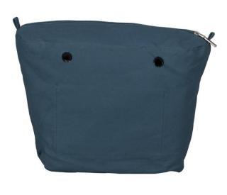 O bag vnútorná plátená taška modrá dámské