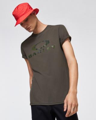 Oakley O Bark Tričko Zelená pánské L