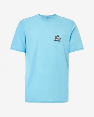 Oakley Space Polygon Tričko Modrá pánské XL
