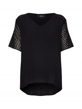 OBJECT Tričko ZOE  čierna dámské XS
