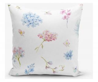 Obliečka na vankúš Minimalist Cushion Covers Liandnse Special Design Flower Modern 45x45 cm Pestrofarebná 45x45 cm