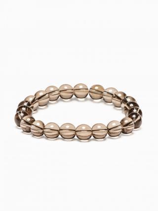 Ombre Clothing Mens bracelet with beads A198 pánské Black One size