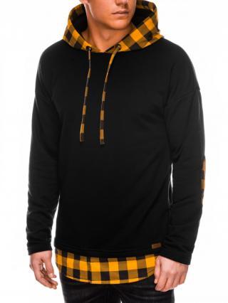 Ombre Clothing Mens hoodie B1014 pánské Black S