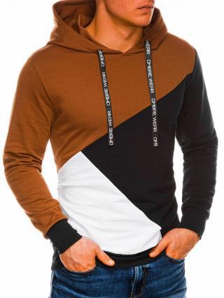 Ombre Clothing Mens hoodie B1050 pánské Navy L