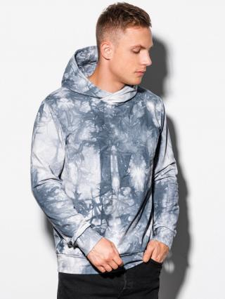 Ombre Clothing Mens hoodie B1070 pánské Grey S