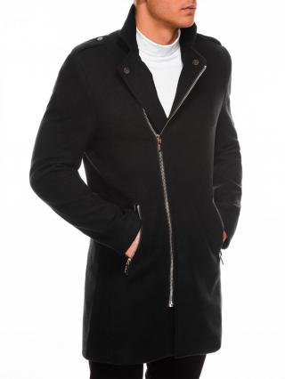 Ombre Clothing Mens mid-season coat C433 pánské Black M