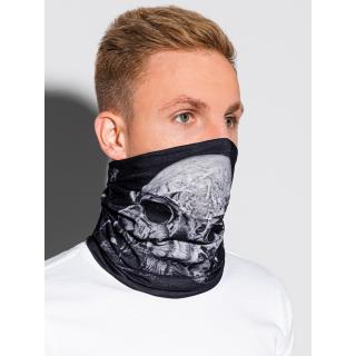 Ombre Clothing Mens snood A393 pánské Black One size