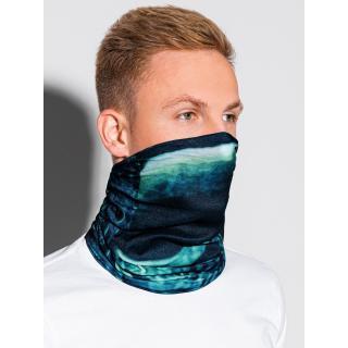 Ombre Clothing Mens snood A400 pánské Blue One size