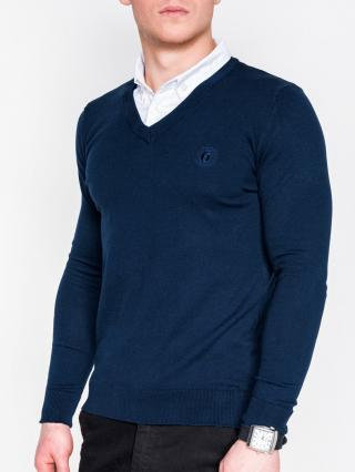 Ombre Clothing Mens sweater E120 pánské Navy M