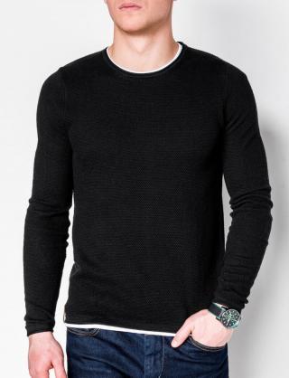 Ombre Clothing Mens sweater E121 pánské Black S