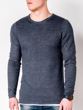 Ombre Clothing Mens sweater E121 pánské Navy S