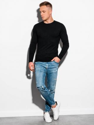 Ombre Clothing Mens sweater E177 pánské Black S
