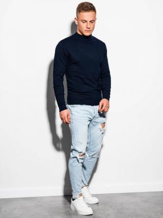 Ombre Clothing Mens sweater E178 pánské Navy S