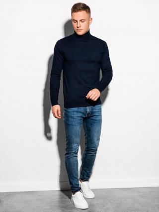 Ombre Clothing Mens sweater E179 pánské Navy S