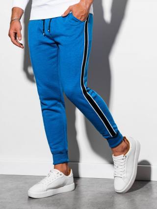 Ombre Clothing Mens sweatpants P898 pánské Blue S