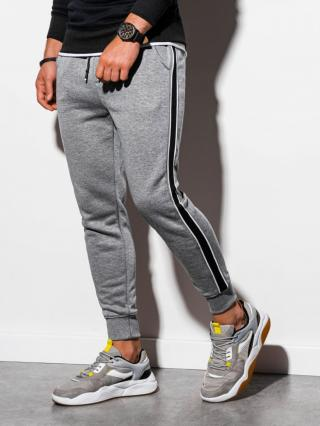 Ombre Clothing Mens sweatpants P898 pánské Grey L