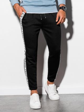 Ombre Clothing Mens sweatpants P899 pánské Black L