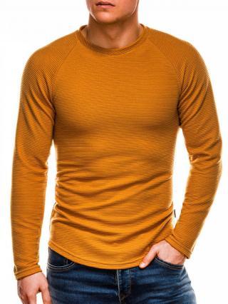 Ombre Clothing Mens sweatshirt B1021 pánské Mustard XL