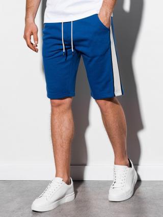 Ombre Clothing Mens sweatshorts W241 pánské Blue S