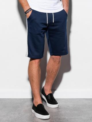 Ombre Clothing Mens sweatshorts W241 pánské Navy S