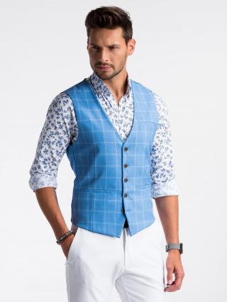Ombre Clothing Mens vest V50 pánské Blue M