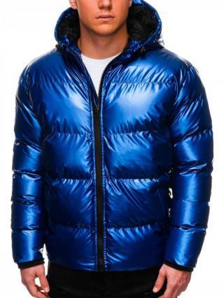 Ombre Clothing Mens winter jacket C463 pánské Blue M