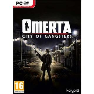 Omerta: City of Gangsters Gold Edition - PC DIGITAL