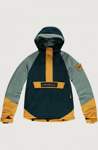 ONEILL Outdoorová bunda Edge  jedľová / nefritová / zlatá žltá pánské 152