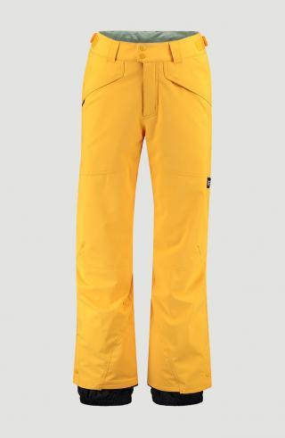 ONEILL Outdoorové nohavice Hammer  zlatá / čierna pánské S