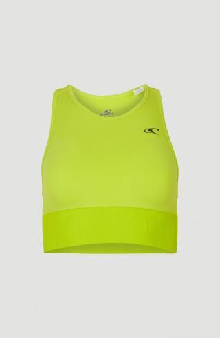 ONEILL Športová podprsenka Active Seamless  citrónová žltá dámské XS
