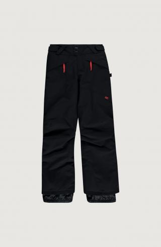 ONEILL Športové nohavice Anvil  čierna / červená pánské 104