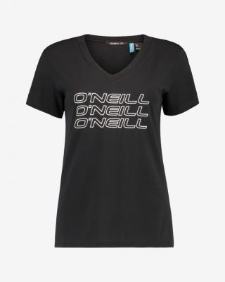 ONeill Triple Stack Tričko Čierna dámské XS