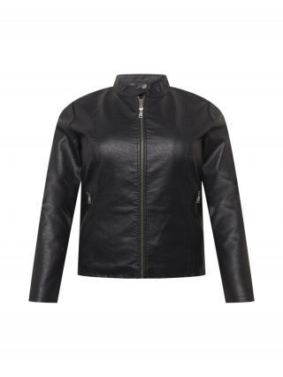 ONLY Carmakoma Prechodná bunda MELISA  čierna dámské L