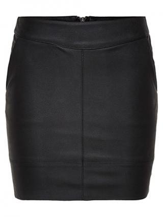 ONLY Dámska sukňa Base Faux Leather Skirt OTW Noosa Black 44