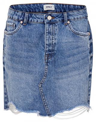 ONLY Dámska sukňa ONLSKY REG DNM SKIRT BB PIM992 NOOS Light Blue Denim 36