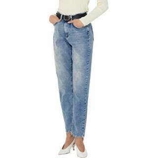 ONLY Dámske džínsy ONLVENEDA LIFE Straight Fit 15193864 Light Blue Denim XL/32 dámské