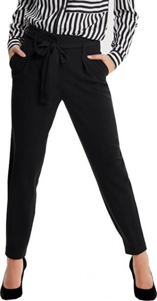 ONLY Dámske nohavice Nicole Paperbag Ankle Pants Wvn Noos Black 38/32