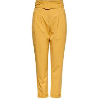 ONLY Dámske nohavice ONLSICA HW paperbag PANTS PNT Spruce Yellow 38