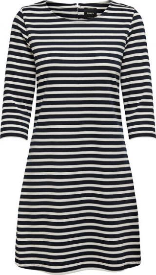 ONLY Dámske šaty ONLBRILLIANT 3/4 DRESS JRS Noosa Sky Captain L dámské