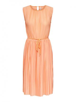 ONLY Dámske šaty ONLELEMA 15227246 Coral Sands XL dámské