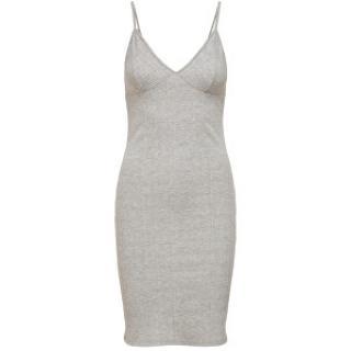 ONLY Dámske šaty ONLHOLLIE 15204164 Light Grey Melange XL dámské