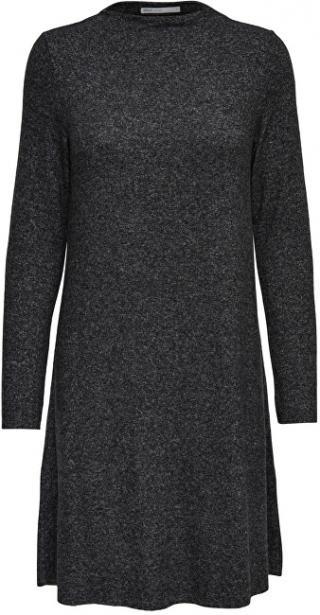 ONLY Dámske šaty ONLKLEO L / S DRESS KNT Noosa Dark Grey S dámské
