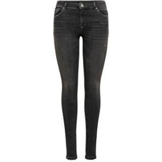 ONLY Dámske skinny džínsy ONLCARMEN LIFE 15208319 Black 26-30 dámské
