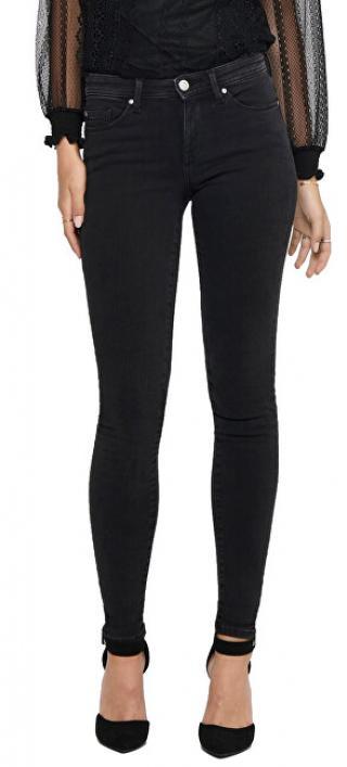 ONLY Dámske skinny džínsy ONLSHAPE LIFE 15197154 Black M/30 dámské
