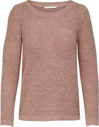 ONLY Dámsky sveter ONLGEENA XO L / S Pullover KNT Noosa Mist y Rose M