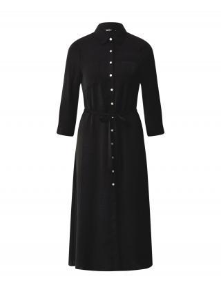 ONLY Košeľové šaty ISABELLA  čierna dámské 34